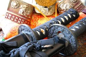 Samurai swords & Ninja